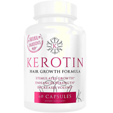 Kerotin Hair Growth Vitamins - Keratin treatment stronger longer & full of life!