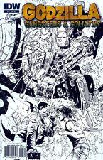 Godzilla: Gangsters & Goliaths #3 IDW 2011 Alberto Ponticelli Variant Cvr 1:10