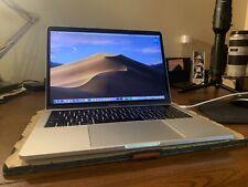 MacBook Pro 2016 13 inch touch bar, 256 GB, 8 GB RAM, Intel 2.9ghz used