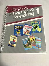 Abeka Phonics & Reading Curriculum And Lesson Plans 1, Home School Edition