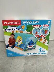 PinkFong Baby Shark Tent Foldable Kids Pop Up Play House NEW