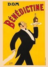 D.O.M BENEDICTINE LIQUEUR, France, 1911, 250gsm A3 Art Deco Poster