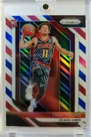 Rare: 2018-19 Prizm Trae Young Red White Blue RWB Prizm Refractor Rookie RC #78