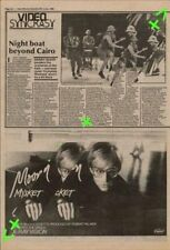 Moon Martin Mystery Ticket Advert NME Cutting 1982