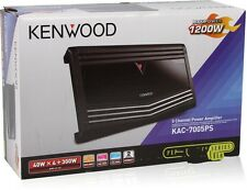 Kenwood KAC-7005PS 700W RMS 5-Channel Performance Series Car Amplifier NEW