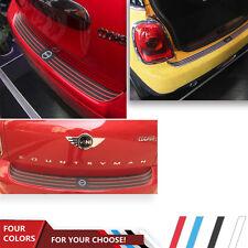 Mini Cooper R55 F55 F56 Rubber Stripe Protector Scratch Guard Trunk Door Sills