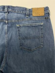 Lucky Brand 44 x 32 181 Relaxed Straight Dark Wash Flex Denim Jeans