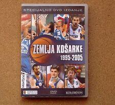 DVD Zemlja Kosarke1995-2005 basketball kosarka baloncesto Beograd Serbia Srbija