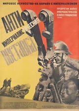 Russian Propaganda Constructivism ANTI-IMPERIAL EXHIBITION Gustav Klutsis Poster