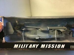 1/60 US Marines Bell V22 Osprey Helicopter Airplane Die Cast Model Display Toy