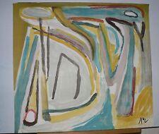 "Lithographie Originale de Bram Van VELDE,  MP 402    ""  APPEL  """