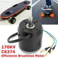 Efficience Brushless Motor 170KV C6374 10mm for Electric Skateboard  |