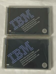 Lot of 2 Vintage NEW/SEALED IBM SLR5-4GB Data Tape Cartridge
