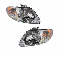 2001 - 2007 DODGE CARAVAN HEADLIGHTS LAMP PAIR RIGHT & LEFT SET