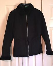 United Colors Of Benneton Jacket Small Black