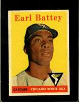 1958 TOPPS #364 EARL BATTEY NM WHITE SOX  *XR20254