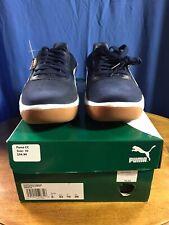 New Puma California Casual Sneakers, Peacoat-Puma White, Men's 10