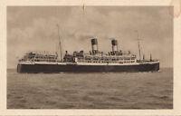 Postcard Ship NGI Giulo Cesare 1921