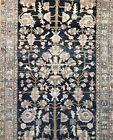 Tremendous Tribal - 1920s Antique Malayer Rug - Oriental Carpet - 4.3 x 6.7 ft