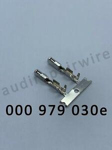 AUDI VW SKODA SEAT 000979030E CRIMP TERMINALS PINS 10X CONNECTOR REPAIR WIRE