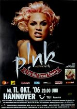 PINK - 2006 - Konzertplakat - Concert - I'm not Dead - Tourposter - Hannover