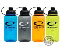 Latitude 64 32oz BPA Free Disc Golf Water Bottle - PICK YOUR COLOR