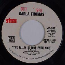 CARLA THOMAS: I've Fallen In Love STAX Funk Soul DJ Promo 45