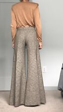 Tricot Chic Wide Beige Pants