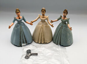 Three Vintage Clockwork Wells Brimtoy Fairy Godmother - Spares and repairs