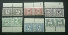Congo Postage Due 1923 Taxes Payer (stamp pair margin) MNH *rare