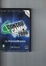 GIOCO PC - CONTRO CAMPO 2006 IL VIDEOGIOCO - MEDIASET