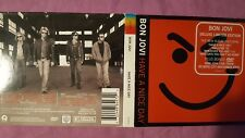 BON JOVI - HAVE A NICE DAY. CD DELUXE  DIGIPACK EDITION CD + DVD