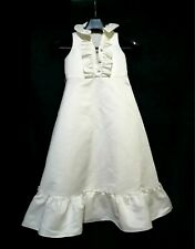NIcholas & Bears ruffled sleeveless long flare dress for 6yo