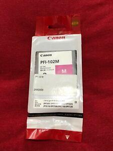 Original Canon Patrone Canon PFI-102M Magenta mit Rechnung