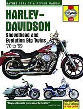 Reparación manual de harley-davidson Shovelhead & Evolution Big Twins 1970-1999