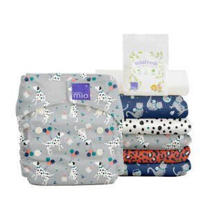 Bambino Mio Miosolo All in One Stoffwindel-Set - AIO OnesSize - Komplettwindel