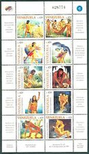 Venezuela 1998 Legendary Caciques, Native Indian Chief Warriors, SC1602, MNH
