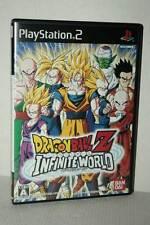 DRAGONBALL Z INFINITE WORLD GIOCO USATO OTTIMO SONY PS2 ED JAP NTSC/J VBC 52383