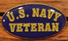 Quality U.S. Navy Veteran Lapel pin Hat Pin tack Military Service Tie Tac