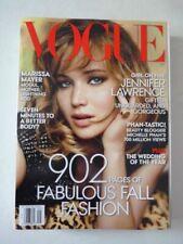 Magazine mode fashion VOGUE US september 2013 Jennifer Lawrence