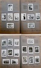 1939 Palestine ISRAEL Album 200 CIGARETTE CARDS Collection JUDAICA Jewish PHOTOS