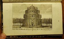1807:ROMA/ROMAE, ANTICO STATO DEL MAUSOLEO DI AUGUSTO..Inc/Rame.M.VASI.Etna