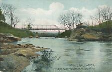 MILLERS FALLS MA – Bridge near Mouth of Millers River - 1907