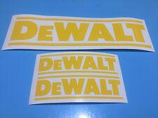 3 x Dewalt Decal / stickers free postage