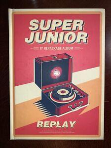 SUPER JUNIOR REPLAY ALBUM (no photocard)