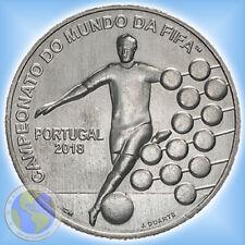 "2,50 Euro Gedenkmünze PORTUGAL 2018 "" FIFA WM 2018 - Russland "" bfr."