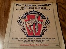 The Family Album Tenth Annual Convention May 1942 Lewistown Pa. Band Masters