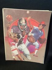 Vintage MEAD The Organizer Trapper Keeper Sports Basketball Football Soccer