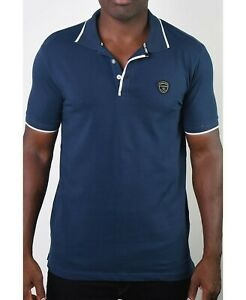 Members Only Men's Polo (Blue, XL)