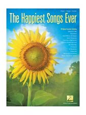 The Happiest Songs Ever Upbeat Play Pop Hits Tunes Piano Vocal Guitar MUSIC BOOK
